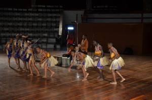 Traditional dancers at the Bomas of Kenya